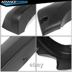 For 07-13 Silverado 1500 69.3 Short Bed Pocket Rivet Style Fender Flares PP