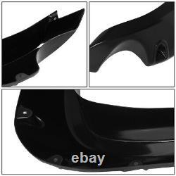 For 07-14 Toyota Fj Cruiser Glossy Pocket Riveted Style Wheel Fender Flares 4pcs