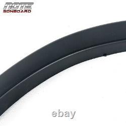 For 09-14 Ford F150 Matte Black Fender Flare Wheel Protector OE Style Paintable