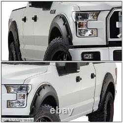 For 15-17 Ford F150 Styleside Pocket-riveted Style Wheel Cover Fender Flares