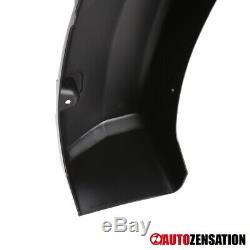 For 2004-2008 Ford F150 Matte Black Pocket Style Fender Flares Wheel Protector