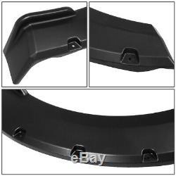 For 2015-2018 Ford F150 Styleside Pocket-riveted Wheel Cover Fender Flares 4pcs