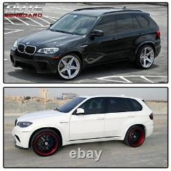 For BMW X5 E70 07-13 Fender Flares Arch Flare Extension Trim Cover 20 21 Wheel