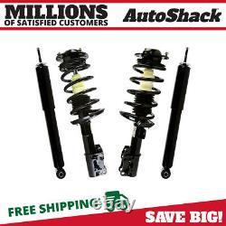 Front Complete Strut & Rear Shock Absorber Kit Set of 4 for Chevrolet Malibu V6