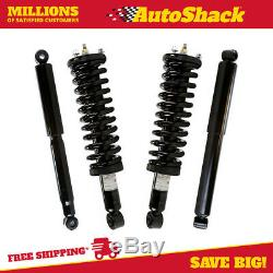 Front Complete Strut and Rear Shock Set for 1995-2002 2003 2004 Toyota Tacoma