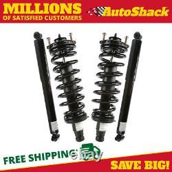 Front Complete Strut and Rear Shock Set for 2002-2009 GMC Envoy Trailblazer
