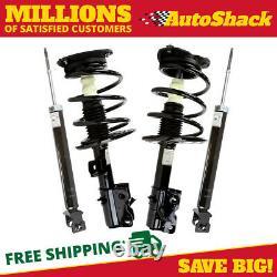 Front Complete Strut and Rear Shock Set for 2007-2010 2011 2012 Nissan Altima