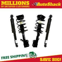 Front Complete Strut and Rear Shock Set for 2007-2010 2011 2012 Nissan Sentra