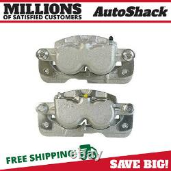 Front Disc Brake Caliper with Bracket Pair 2 for Chevy Silverado 1500 Tahoe 6.0L