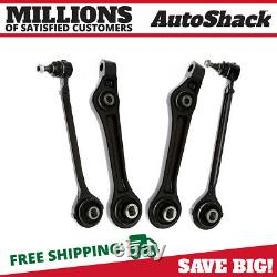 Front Lower Forward Rearward Control Arm with Ball Joint Set of 4 for Chrysler 300