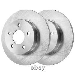 Front Rear Rotors Ceramic Pads for 2006-2010 G6 2007-2009 Aura 2007-2012 Malibu