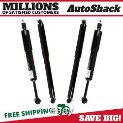 Front and Rear Shock Absorber Set of 4 for Mountaineer Ford Explorer Sport Trac