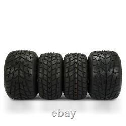 Go Kart Wheels Go Kart Rain Tires Set of 4 Front and Rear Durable 11x6.0-5