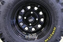 Honda Rancher 350 25 Kenda Bear Claw Atv Tire Itp Black Atv Wheel Kit Srad