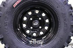Honda Rancher 420 Sra 25 Bear Claw Atv Tire Itp Black Atv Wheel Kit Srad