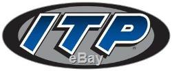 ITP SS112 Rims Wheels Yamaha Raptor 700 Set 4 Front & Rear Black 2006-2020 NEW