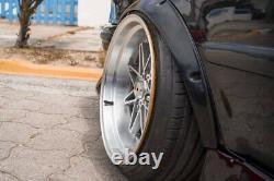 JDM fender flares for Toyota Corolla wide body wheel arch E110 AE112 2.0 4pcs