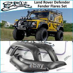 Land Rover Defender Fender Flares Set Defender 90 110 130 Wheel Arches 1983-2016