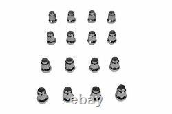 MASSFX Front 10 & Rear 9 Rim Machined 10x5 4/144 & 9x8 4/110 Wheels & Lug Nuts