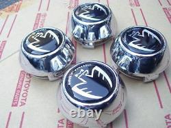 MR2 MR-S Roadster Spyder ZZW30 Black Wheel Center Cap set NEW Genuine OEM Parts