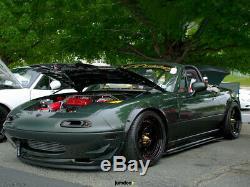 Mazda MX-5 Miata Fender Flares JDM wide body kit wheel arch 50mm 4pcs set