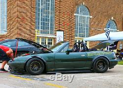 Mazda MX-5 Miata NA NB Fender Flare JDM Wide Body Kit Wheel Arch ABS 2.0 4pcs