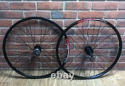 Mountain Bike Wheels Front & Rear Shimano Hub Alex DP20 Rim Quando Bearings 26