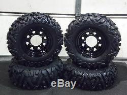 Polaris Sportsman 500 25 Quadking Atv Tire Itp Blk Atv Wheel Kit Pold Bigghorn