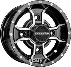 Raceline A77 Mamba 10 Front and 9 Rear Wheels Rims TRX 450R 250R 400EX LTZ400