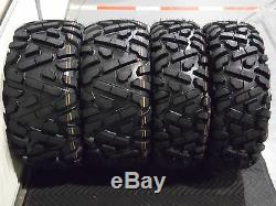 Rancher 420 (sra) 25 Quadking Atv Tire Itp Black Atv Wheel Kit Srad Bigghorn