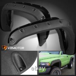 Rugged Textured 94-01 Dodge Ram 1500 2500 Pocket Rivet Wheel Fender Flares