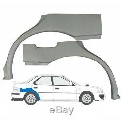 SUBARU IMPREZA 1992-2000 2x SILL REPAIR PANEL + 2x REAR WHEEL ARCH / SET OF 4