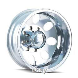 Set of 4 ION Alloy Wheels 167 Polished Front/Rear Dually Wheels 8x165.1 16x6