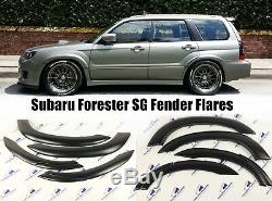 Subaru Forester Fender Flares Front&rear Wheel Arch Protector Fit 02-08 6 PCS