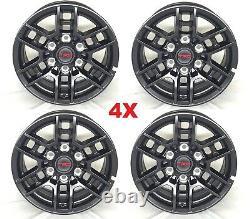Trd Black Wheels Rims Tires 265 70 17 Falken Wildpeak A/t3w Package 2020
