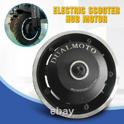 US 52V 1000W For 10inch Electric Scooter Front & Rear Drive Hub Motor No Wheels