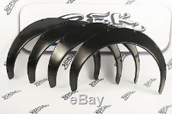 Universal JDM Fender Flares Over wide Body Wheel Arches ABS 3,9 inch 100 mm