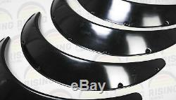 Universal JDM Fender Flares Wheel Arch 3,5 inch (90mm) 4pcs zg style ABS Plastic