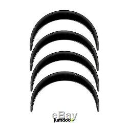 Universal JDM Fender Flares over wide body wheel arches ABS 3.5 4pcs