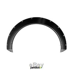 Universal JDM Fender flares CONCAVE over wide body wheel arches ABS 2.75 2pcs