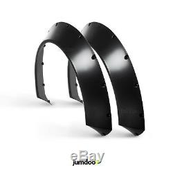 Universal JDM Fender flares CONCAVE over wide body wheel arches ABS 70mm 2pcs