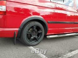 VW T5 2003-2015 ABS Platic Wheel Arches Fender Flares Matte Black 6pcs New