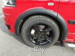 VW T5 2003-2015 ABS Platic Wheel Arches Fender Flares Matte Black 8pcs