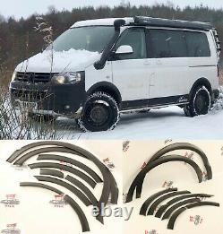 VW Transporter T5 lwb swb kombi wheel arches cover guard Fender flares SET 10PCS