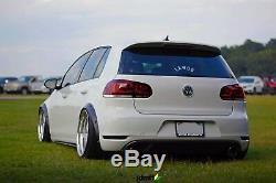 Volkswagen Golf Mk6 Fender flares JDM wide body kit wheel arch 50mm 2.0 4pcs
