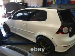 Volkswagen VW GOLF GTI MK5 Fender Flares R32 Wheel Arches 30mm Width SET OF 8PCS