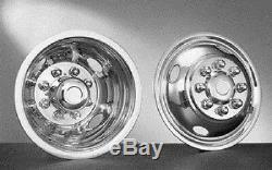 WHEEL SIMULATORS 1988-2007 CHEVY GMC 3500 16 DUALLY 8 LUG 4 HAND HOLE 4x2 /4x4