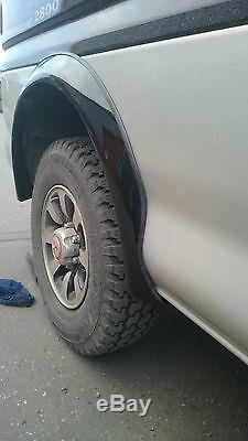 Wheel Arches Set Mitsubishi Delica L400 Spacegear #new# Colour Black
