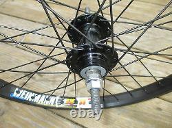 Wheel Set 20 BMX Park 3/8 Front 3/8 Flip Flop Rear Double Walled Rims New