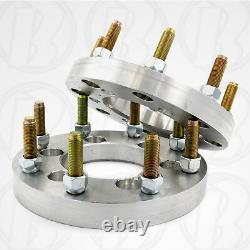 X4 USA 6 Lug Vehicle to 8 Lug Wheel Adapters / 1 Spacers 6x5.5 to 8x180